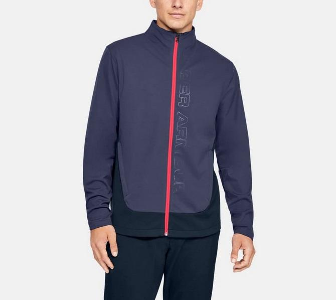 UA Storm Full Zip Blue 1345468