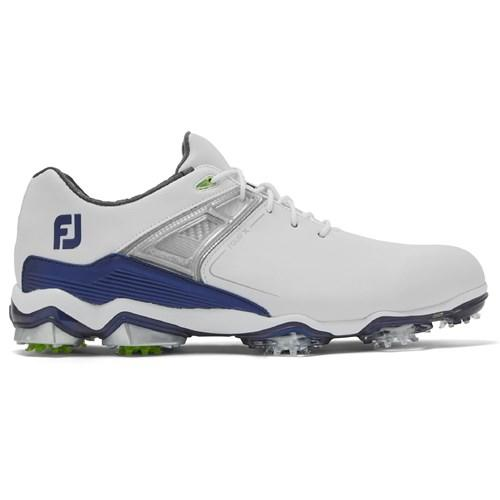footjoy tour x white/navy shoe