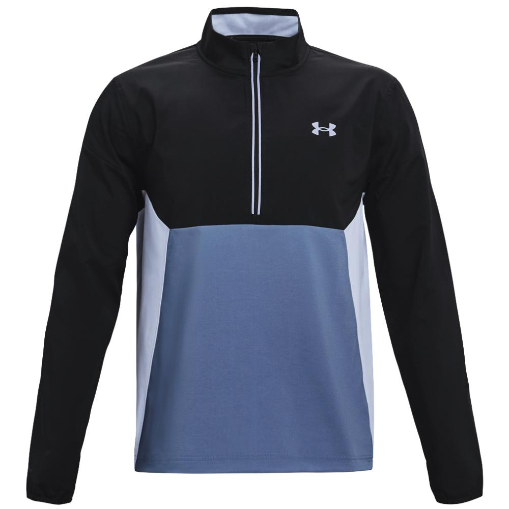 UA Storm Windstrike 1/2 Zip Mineral Blue/Black 1361863