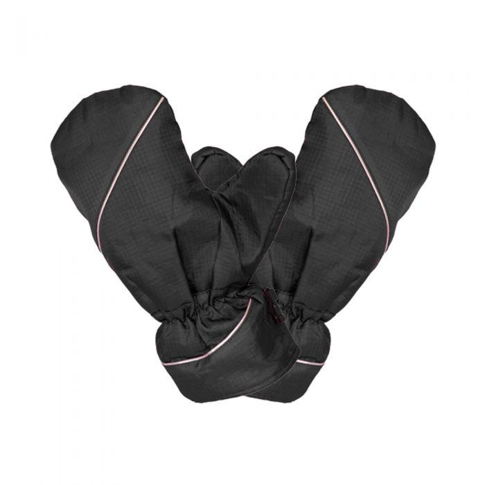 Ladies Winter Mitts - Black