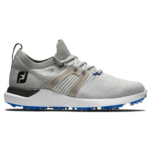 footjoy hyperflex grey white blue shoe