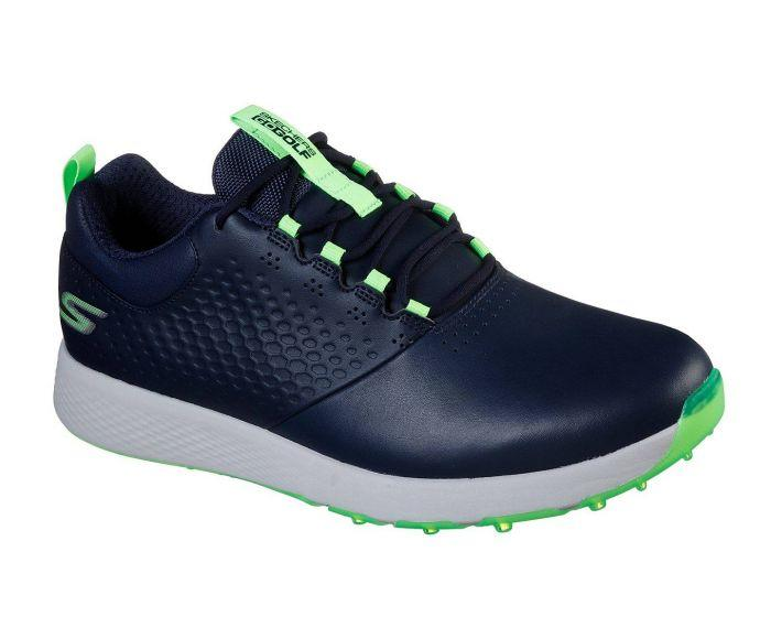Skechers Elite V4 Navy Lime Golf Shoe