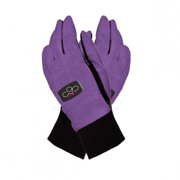 Ladies Winter Gloves - Purple