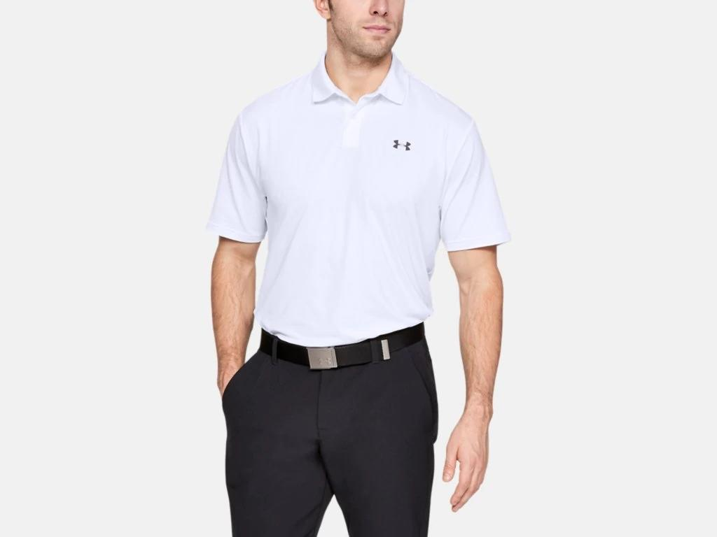 UA Performance Polo White 1342080