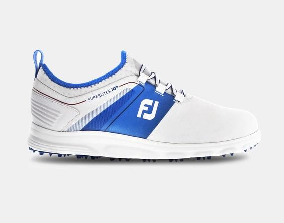 Footjoy Superlites XP White Blue