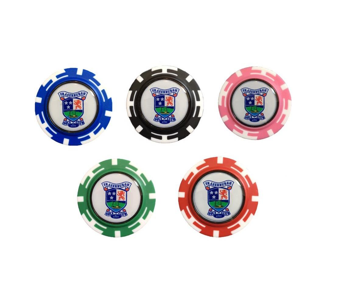 Fraserburgh Golf Club Poker Chip Marker