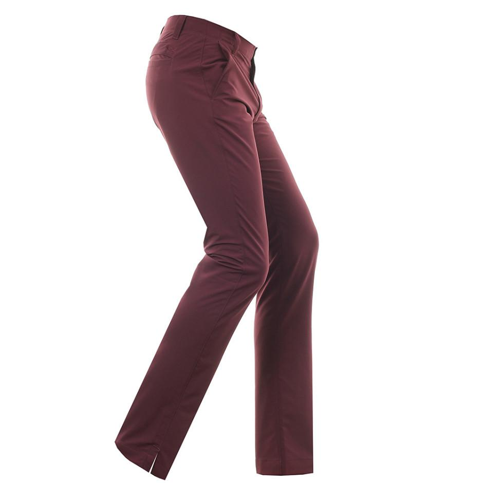 UA Matchplay Taper Raisin Red Golf Trousers