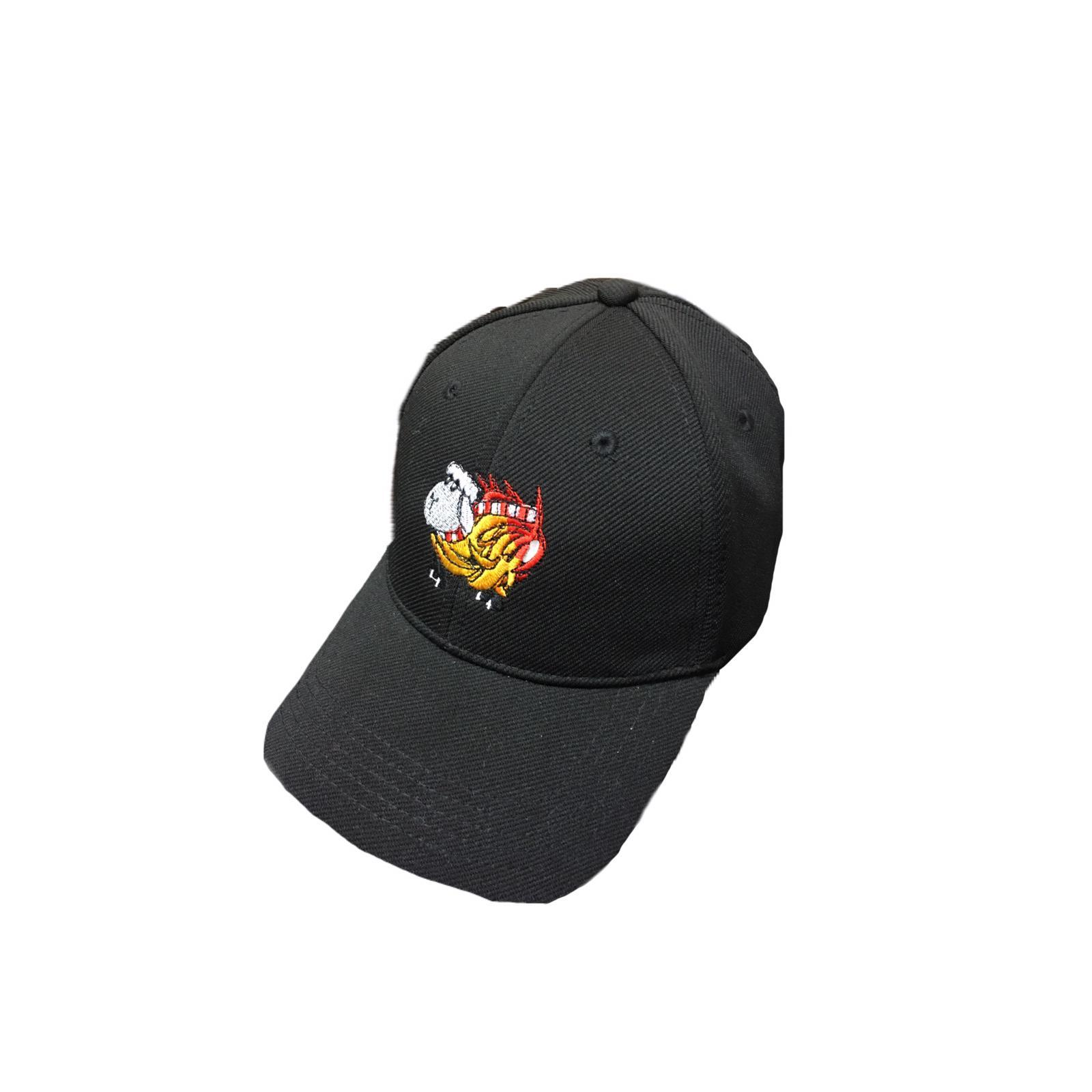 Black sheep on fire cap