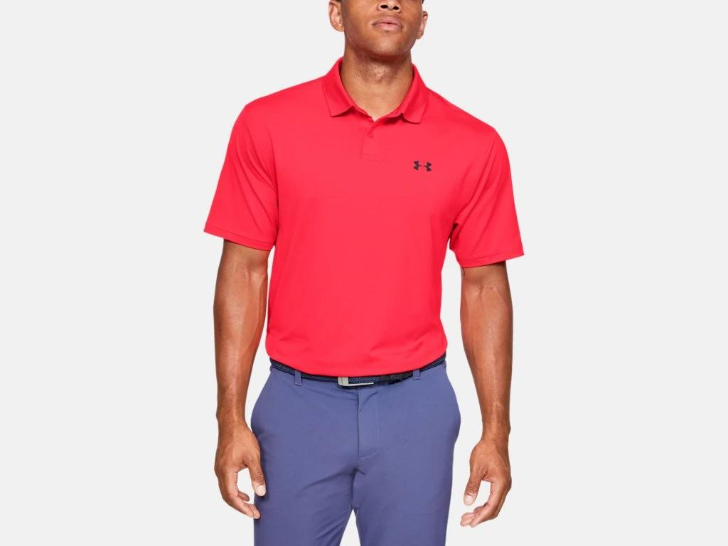 UA Performance Polo Red Beta 1342080