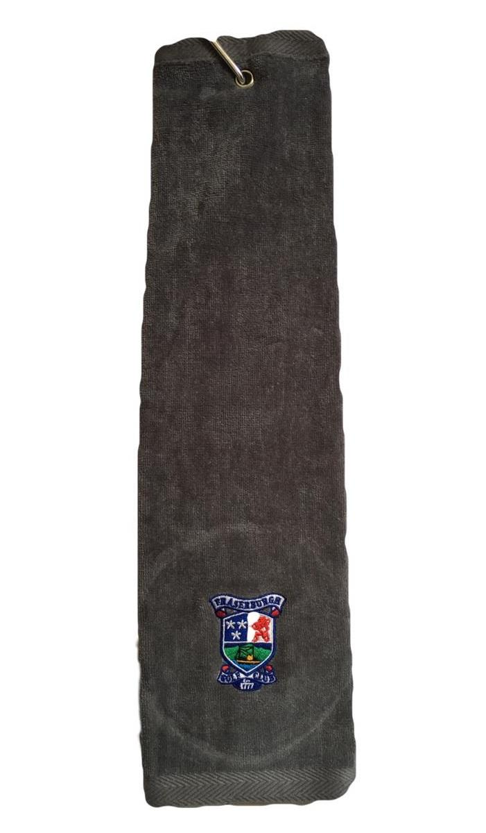 Fraserburgh Golf Trifold Towel Grey