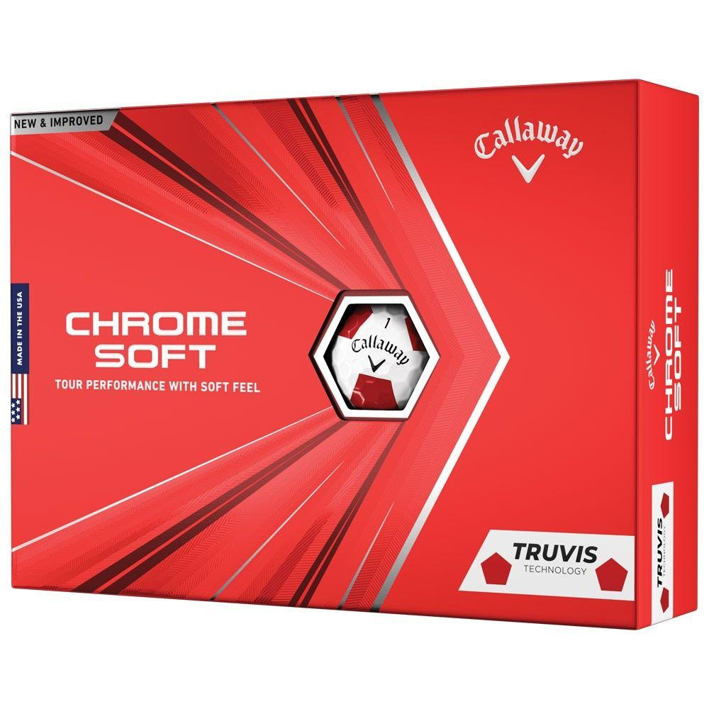 Callaway TruVis Golf Ball Red