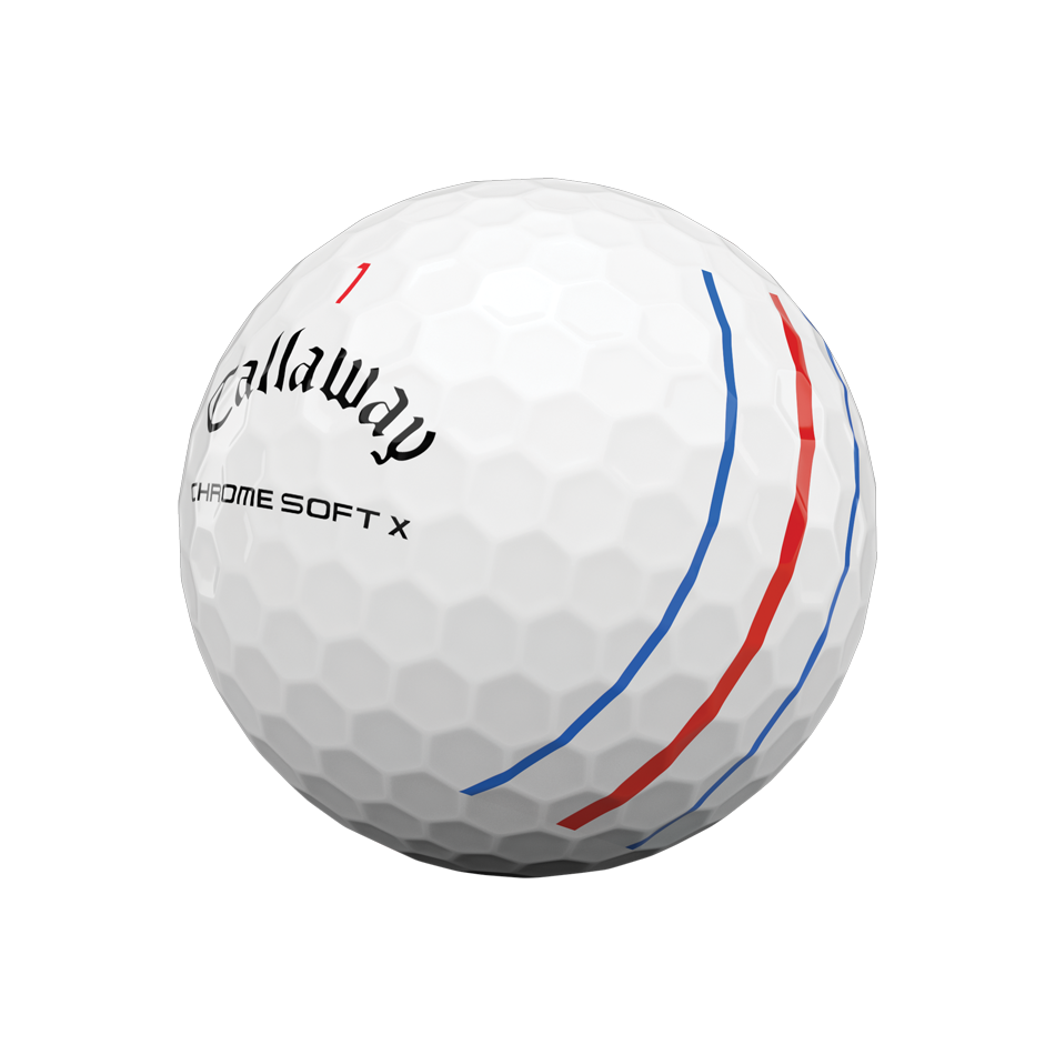 Chrome Soft X Triple Track Golf Ball
