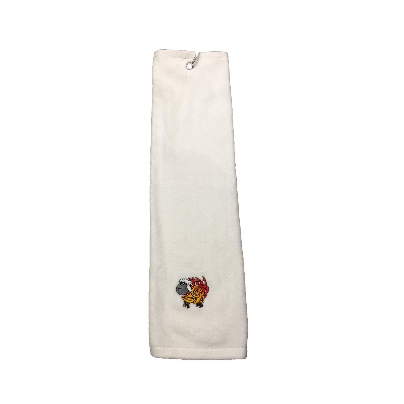 White Sheep On fire Towel