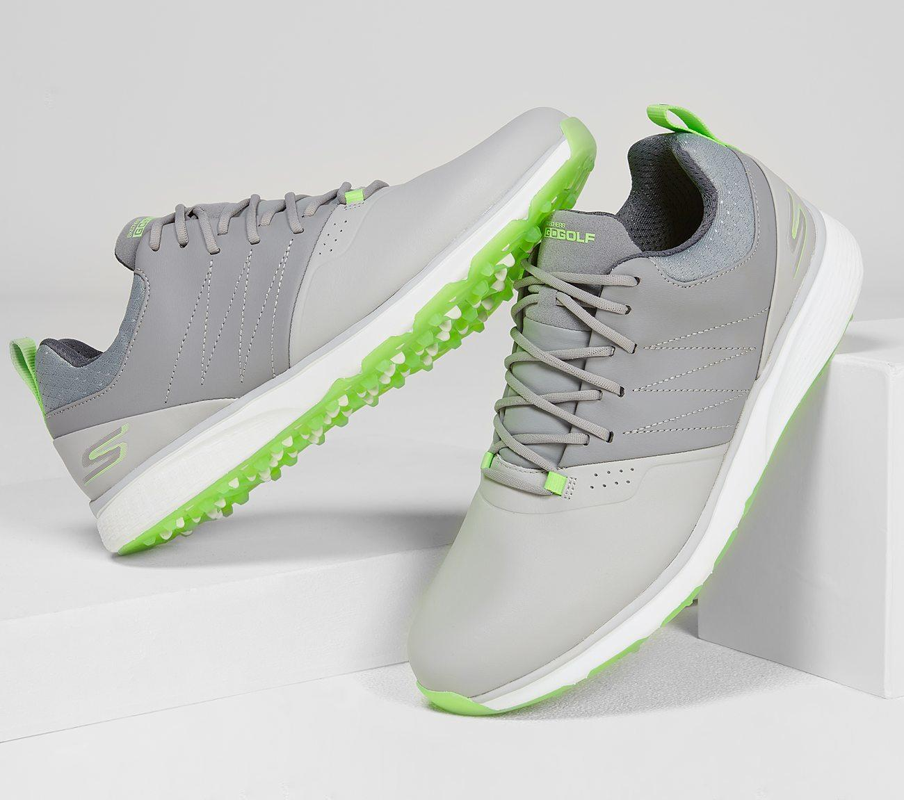 Skechers Mojo Punch Grey/Lime