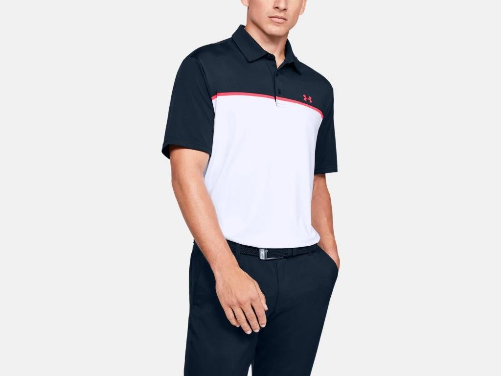 UA Playoff Polo 2.0 Navy/White 1327037