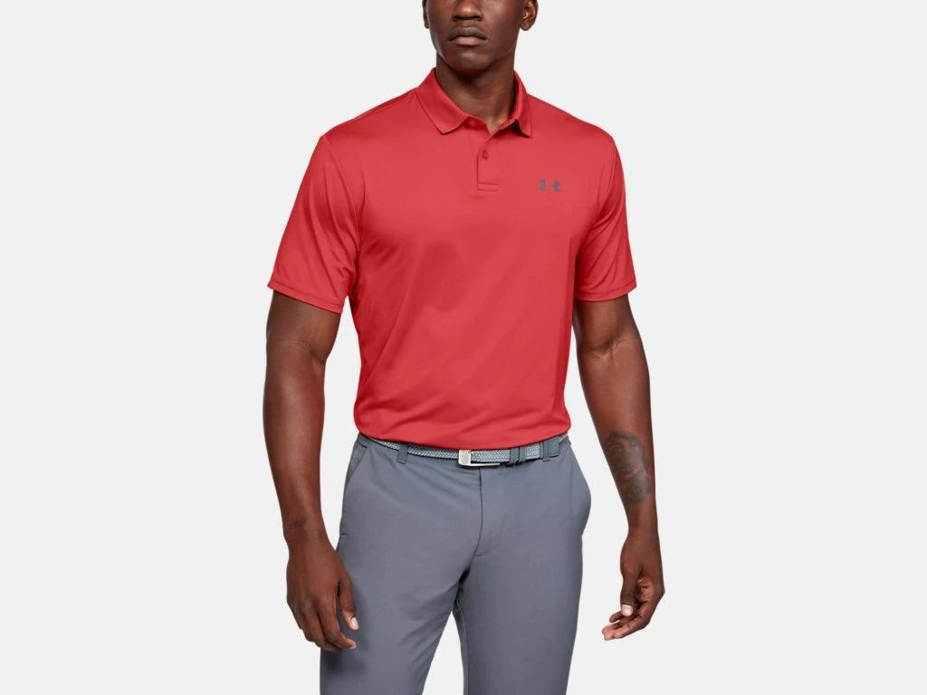 UA Performance Polo Martian Red 1342080