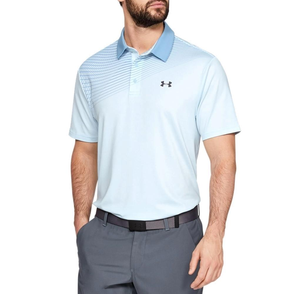 *SALE* UA Playoff Polo 2.0 Blue 1327037 Size Small