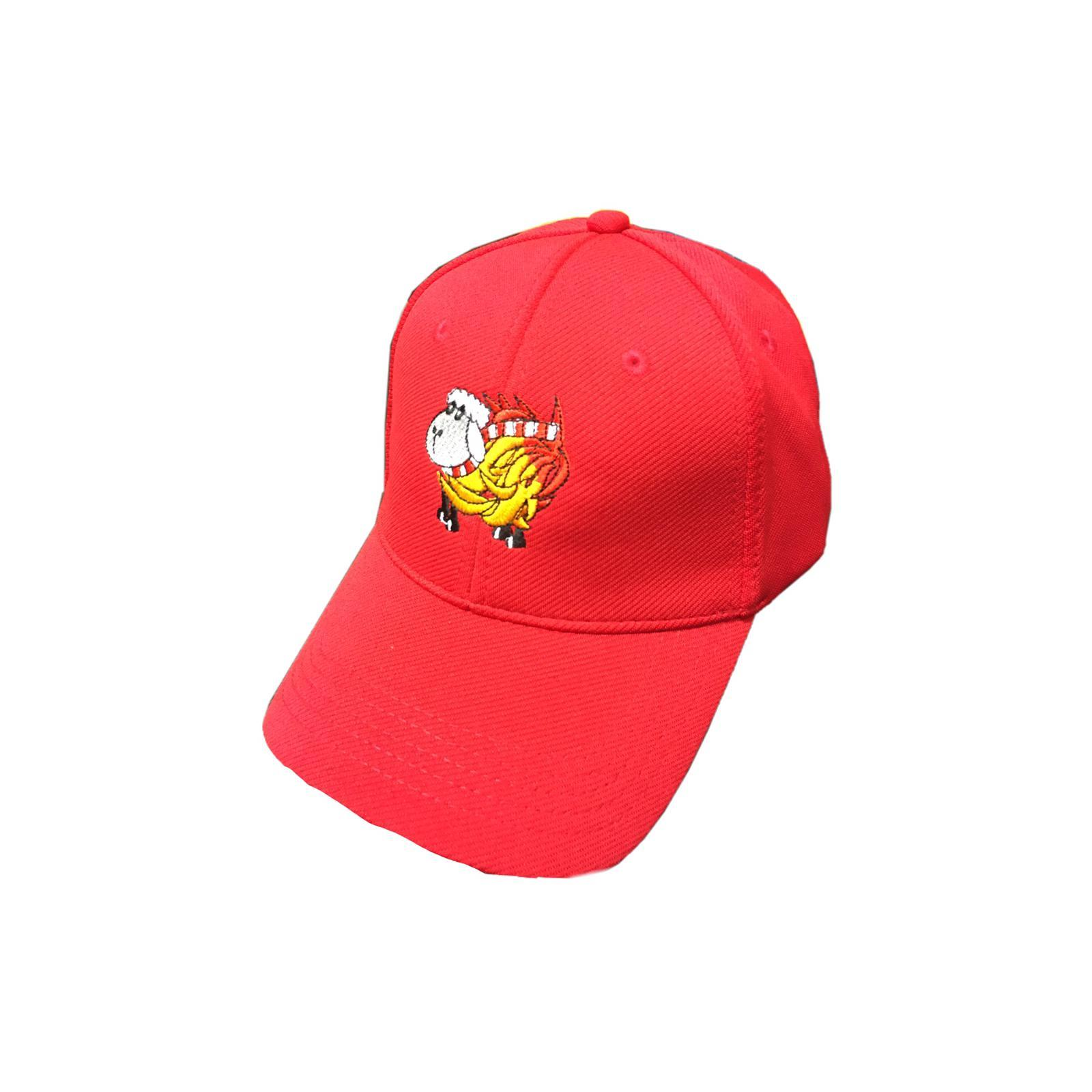 Red Sheep on Fire Cap