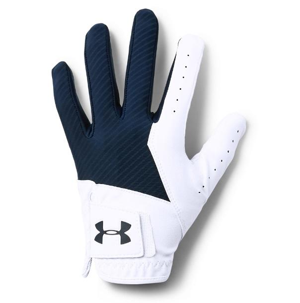 UA Medal glove White Navy