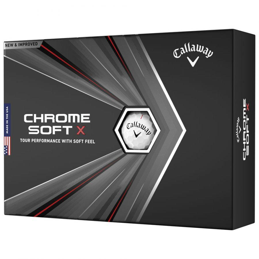Chrome Soft X 1 dozen box
