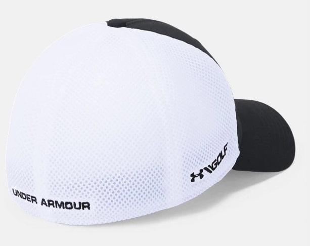 Men's UA Microthread Golf Mesh Cap - Black Back