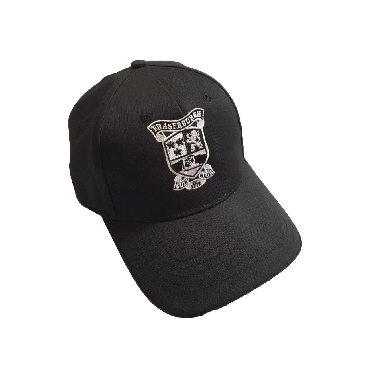Fraserburgh Golf Club Microtech Cap Black