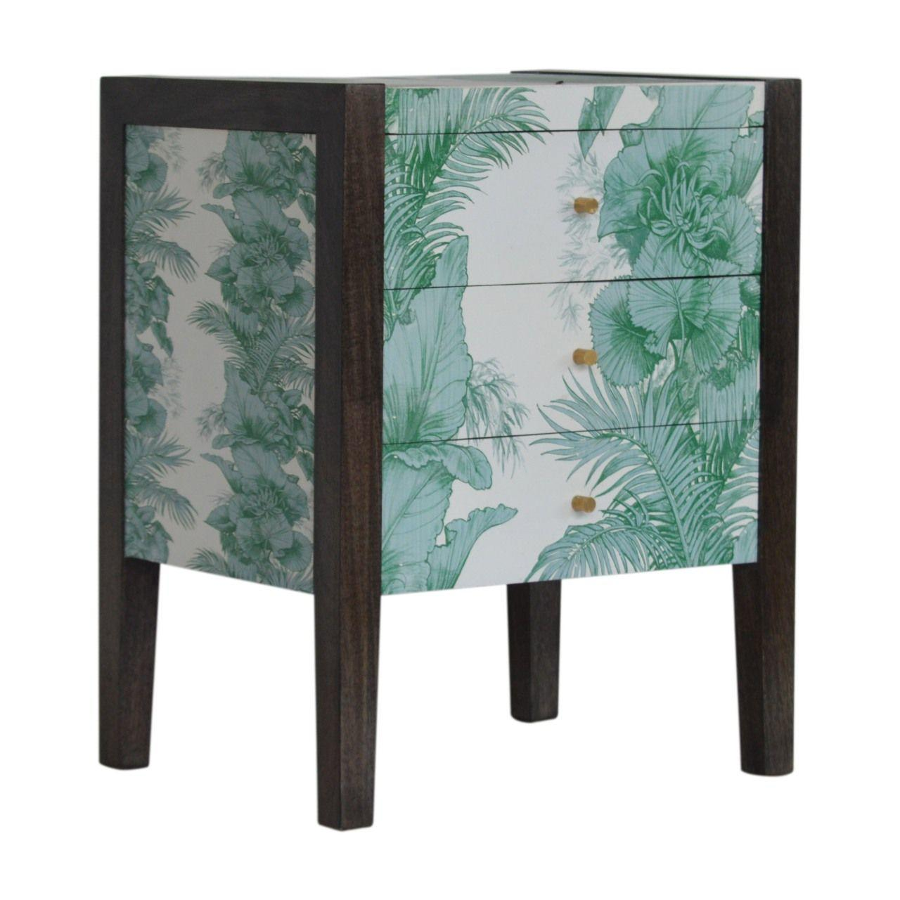 Sustainable Mango Wood Bedside Table