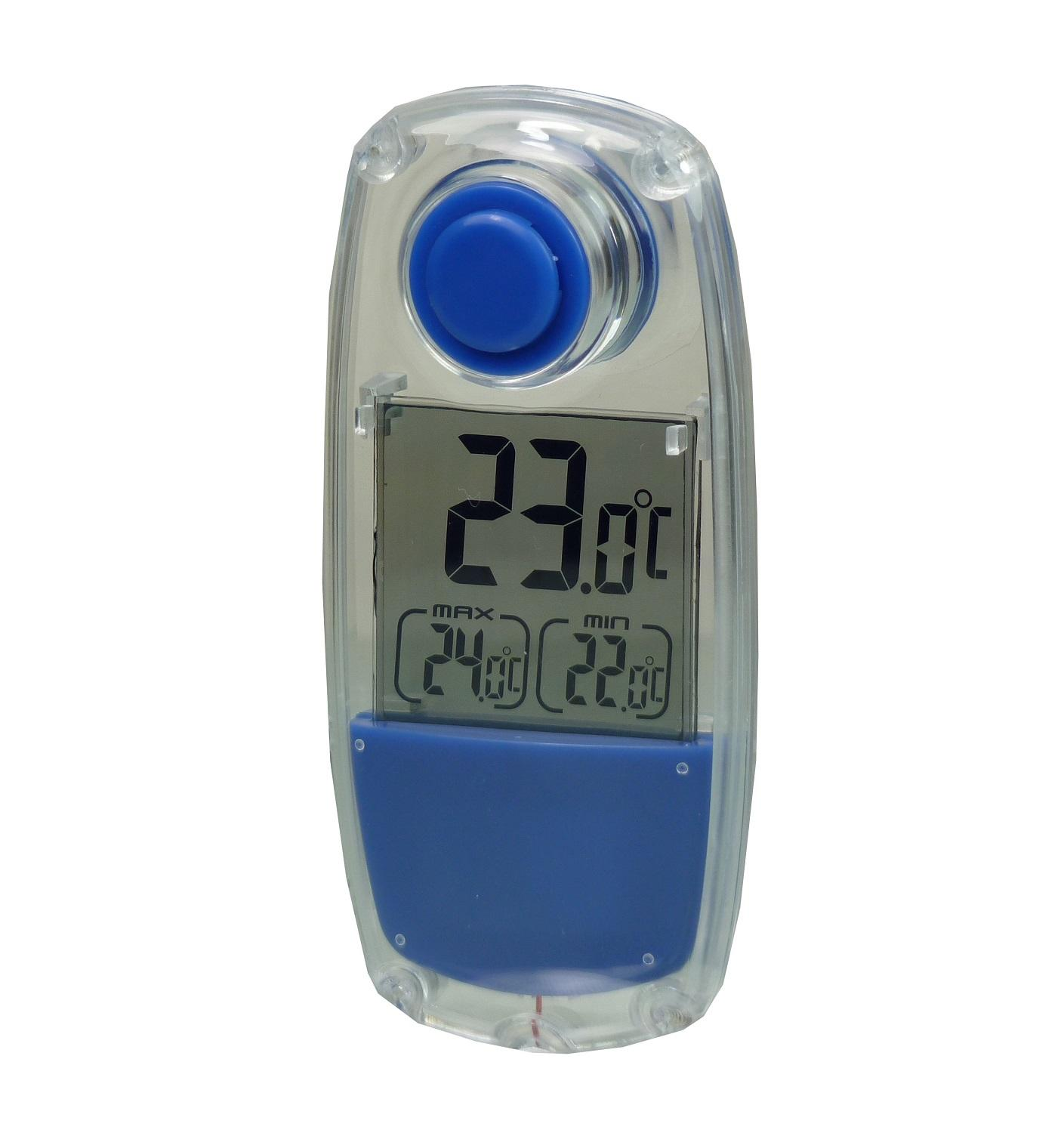 POWERplus Parrot Solar Outdoor and Indoor Thermometer