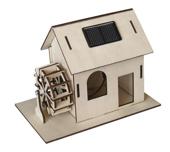 Solar Powered Watermill Kit by Solar Technology