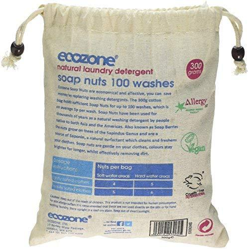 EcoZone Laundry Soap Nuts 300g 100 Washes