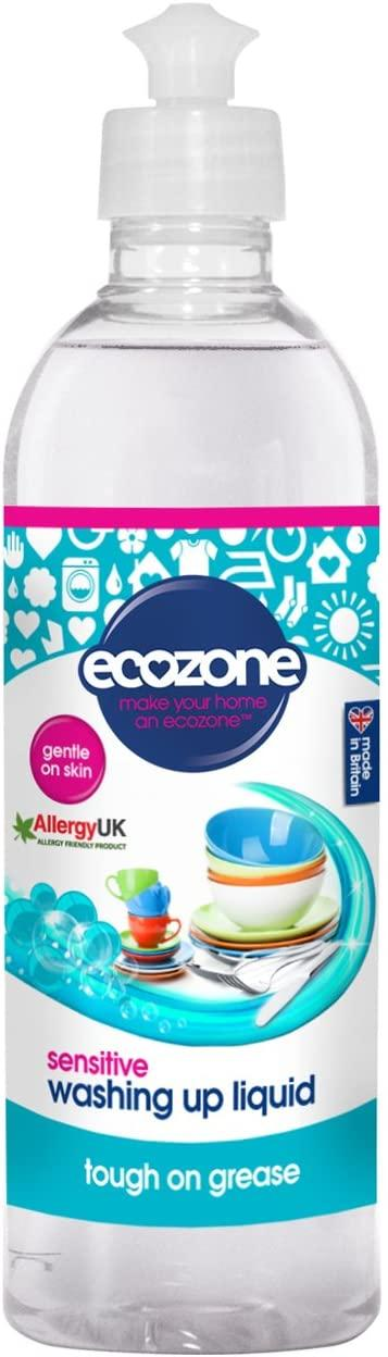 EcoZone Washing Up Liquid Sensitive Fragrance Free