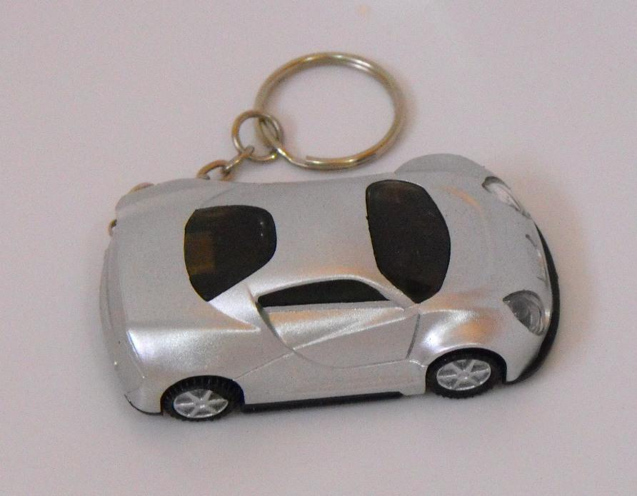 POWERplus Impala Dynamo Keychain Sports Car LED Flashlight