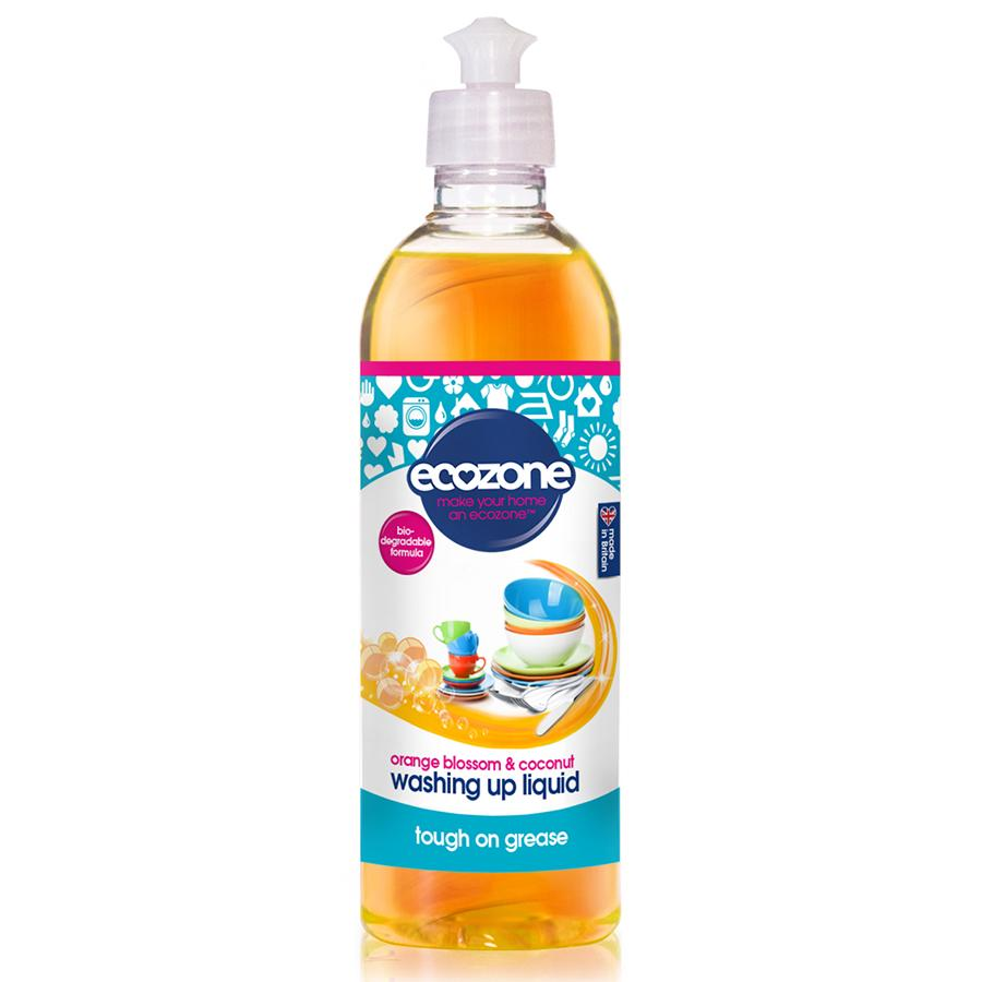 EcoZone Washing Up Liquid Orange Blossom and Coconut