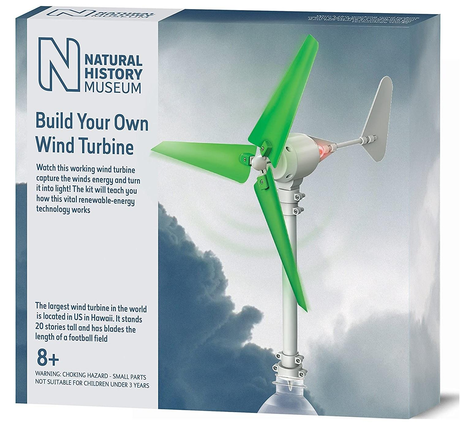 4M Natural History Museum Build Your Own Wind Turbine