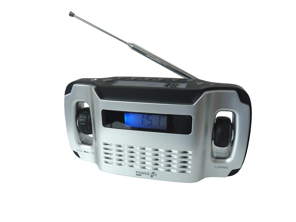 Powerplus Lynx Solar & Dynamo Powered Radio Torch