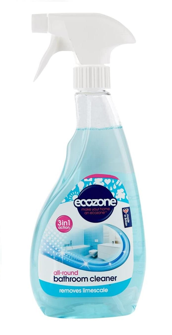 EcoZone 3 in 1 Bathroom Cleaner Fast Action Limescale Remover