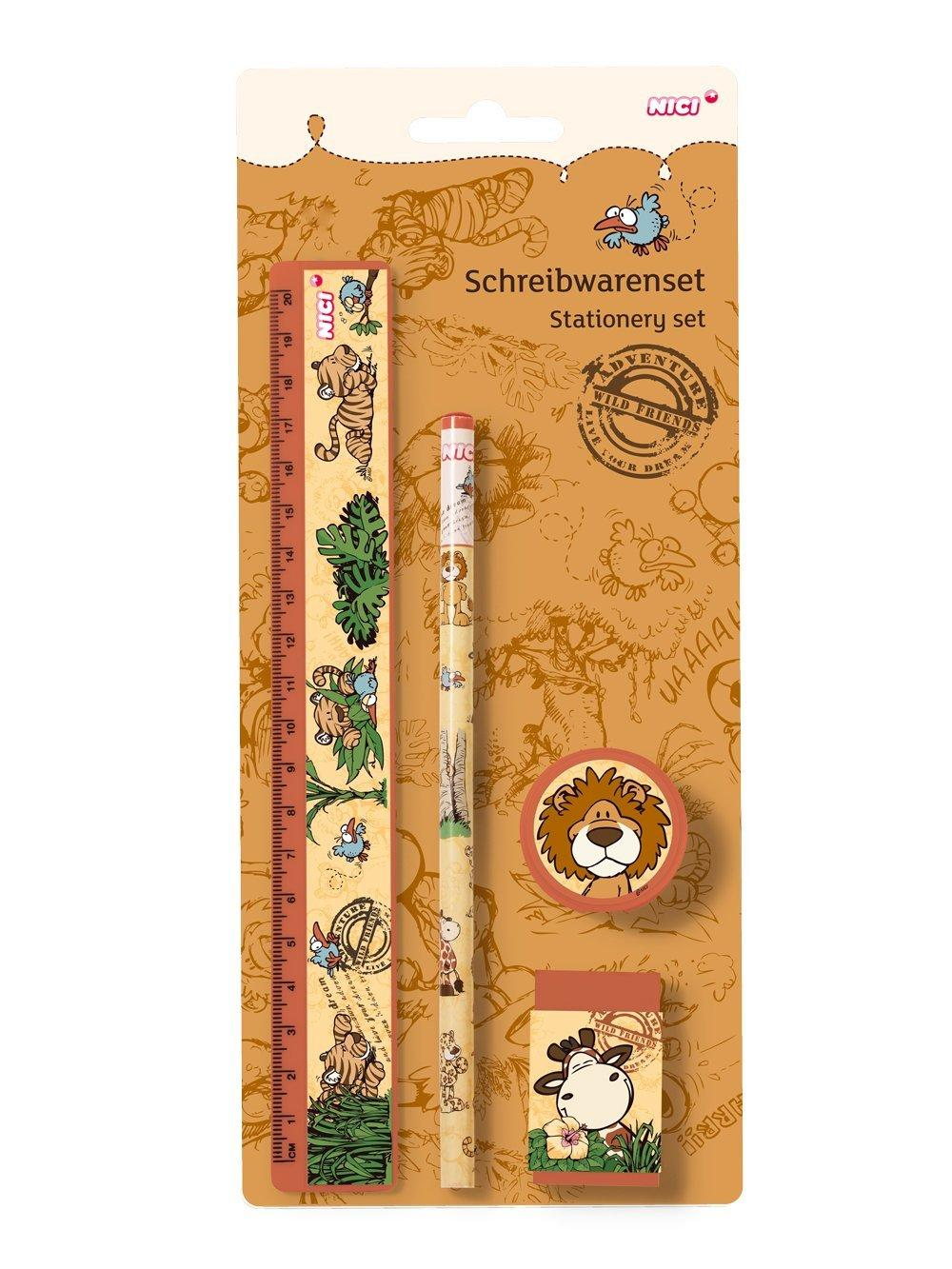 NICI Wild Friends Stationery Set