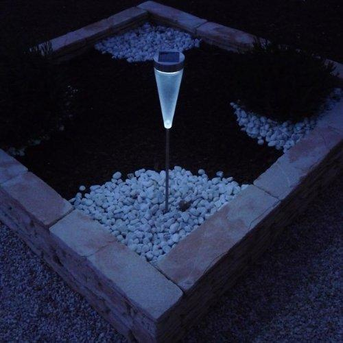POWERplus Flamingo Fixed or Colour Changing 3 in 1 LED Solar Garden Light