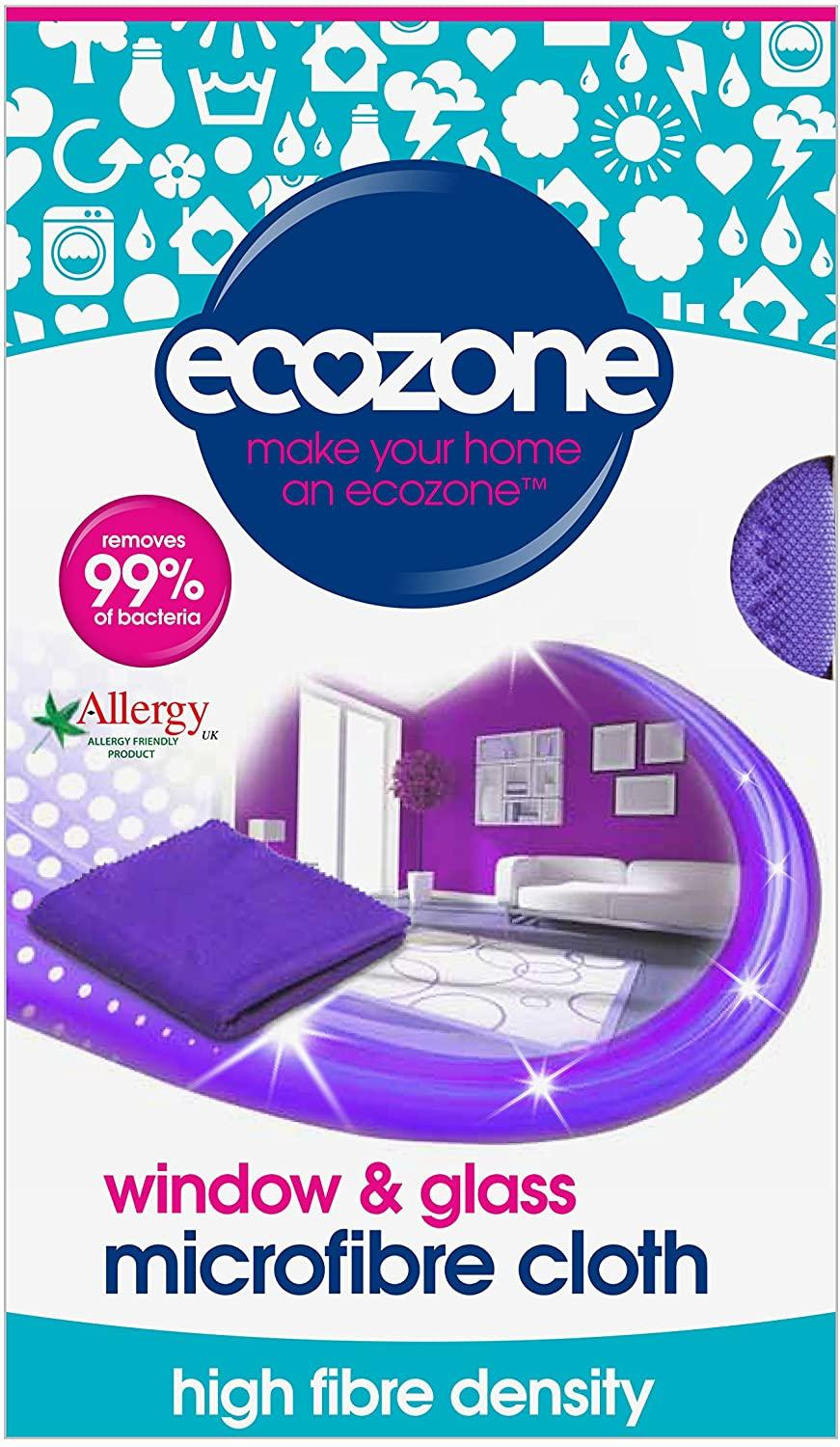 EcoZone Window & Glass Microfibre Cloth - MICRO3