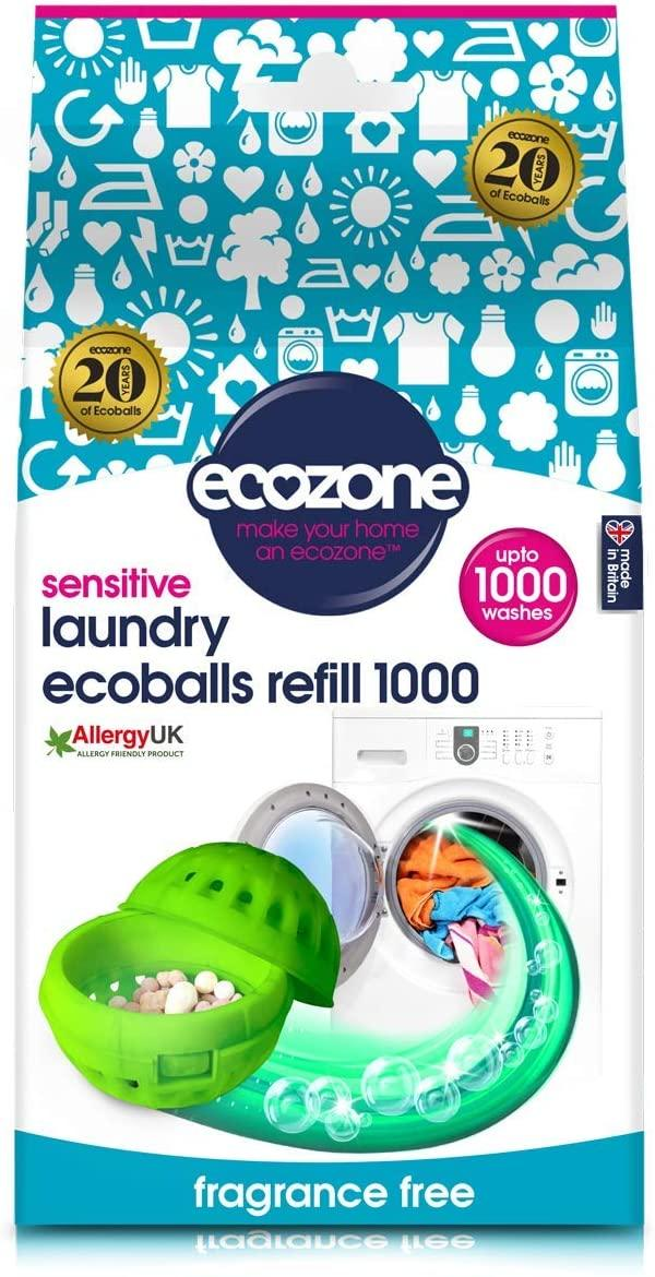 Ecozone Laundry Ecoballs Refill Sensitive (1000 Washes)