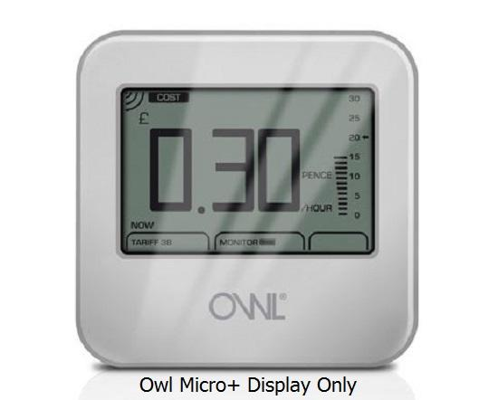 Owl Micro Plus+ Display Only