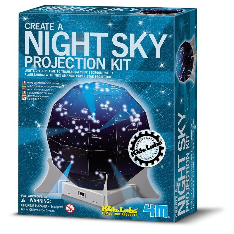 4M Kidz Labs Night Sky Projection Kit