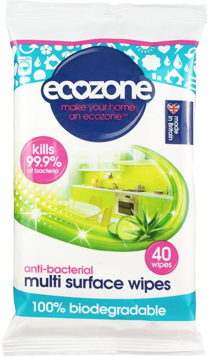 EcoZone Anti Bacterial Wipes