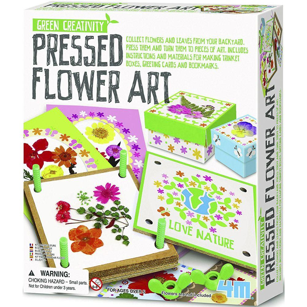 4M Green Creativity Pressed Flower Art