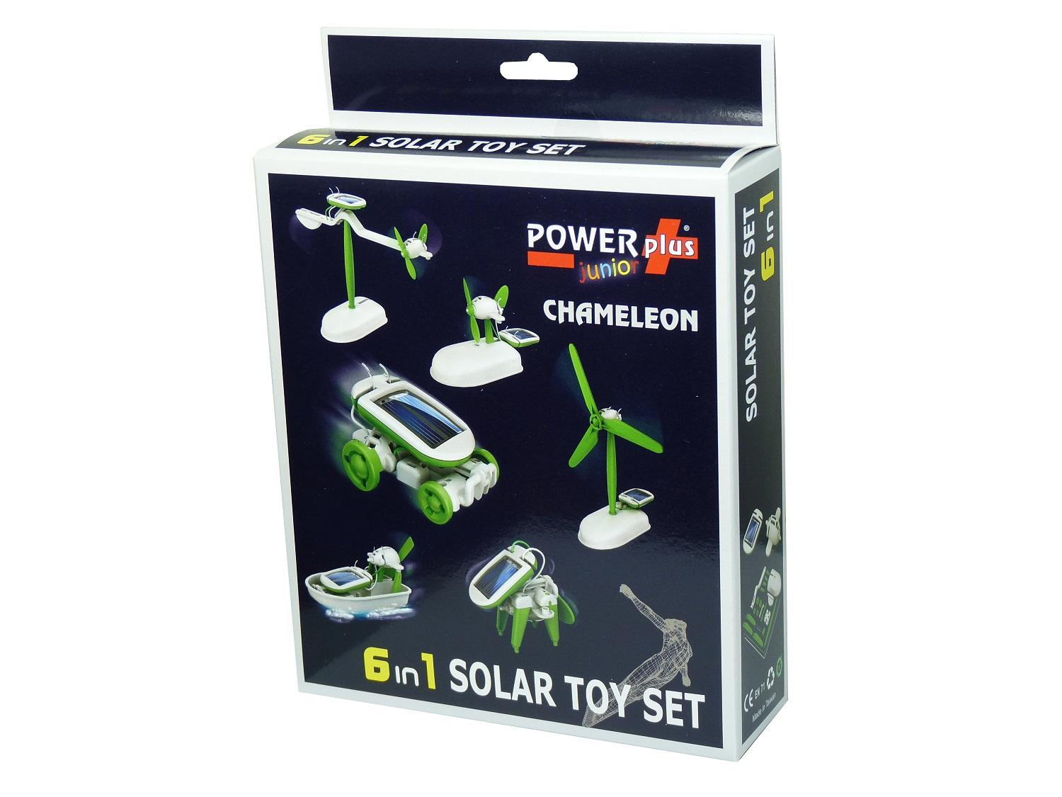 "POWERplus ""Junior"" Chameleon 6 in 1 Solar Toy Set"