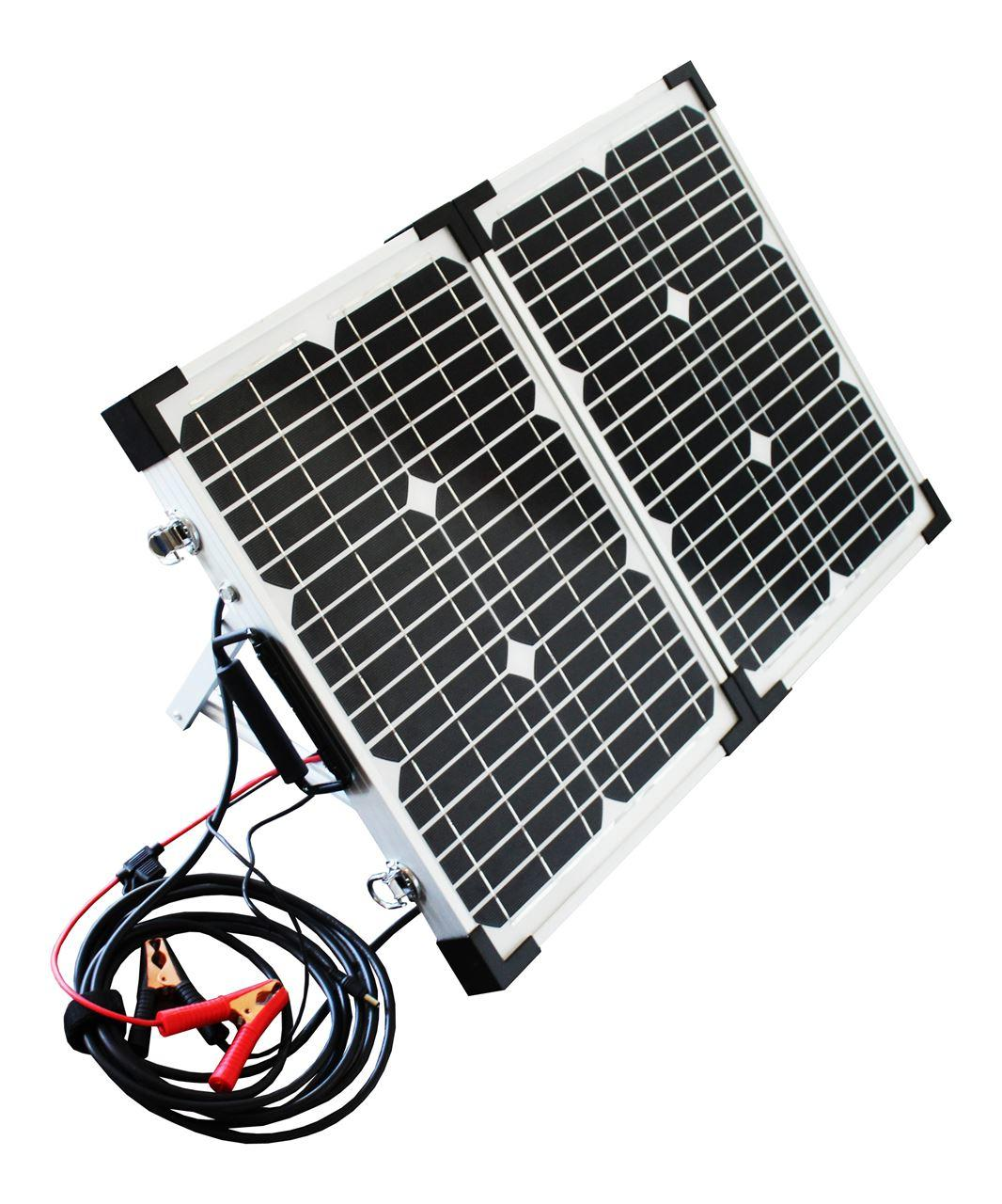 POWERplus Python 2 x 20 Watt Foldable Solar Panel with Charge Controller