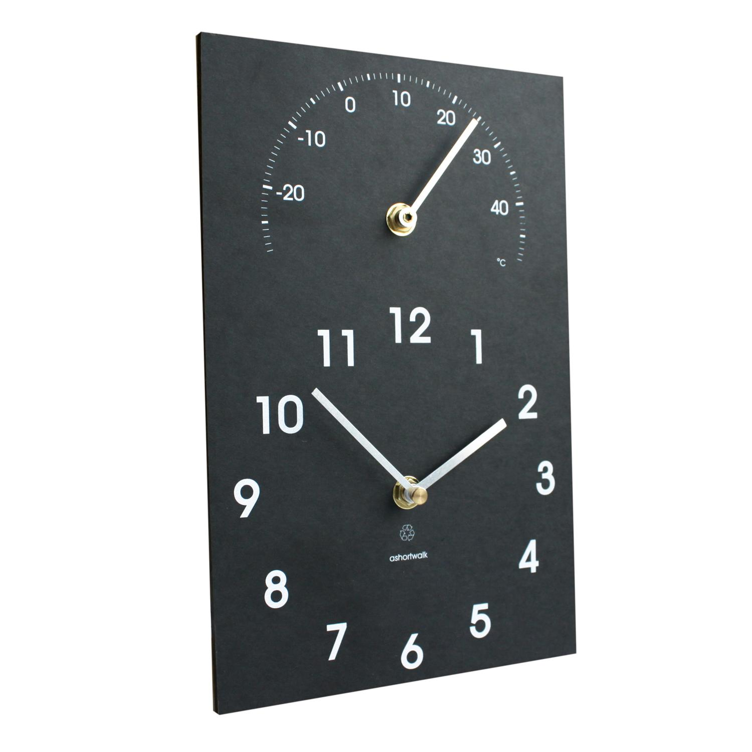 ashortwalk Clock Thermometer