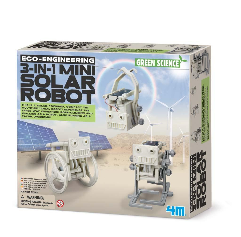 4M Green Science 3-in-1 Mini Solar Robot
