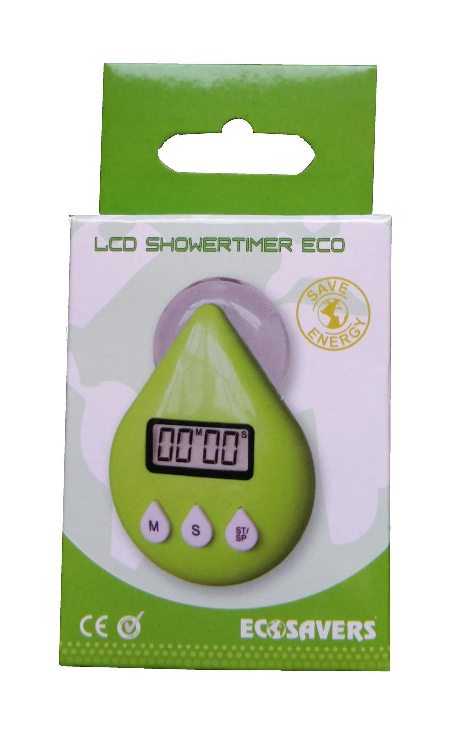 Green Drop LCD Shower Timer ECO / Toothbrush Timer