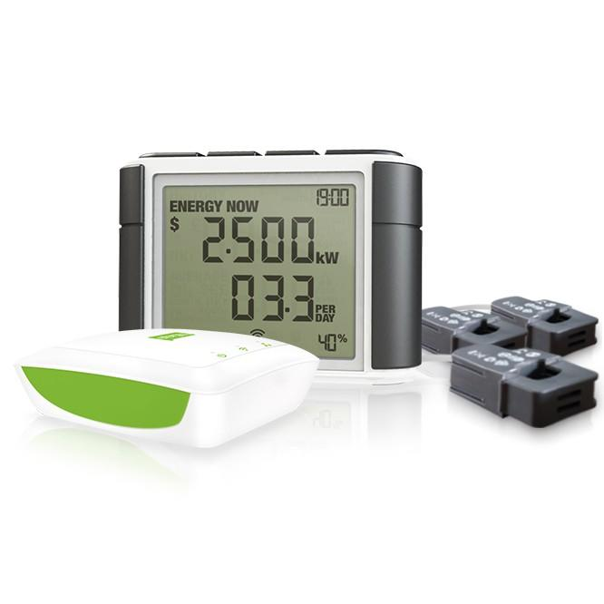Efergy Engage Elite (4.0) Three Phase Online Electricity Monitor Bundle (3 x 71 amp CT Sensors)